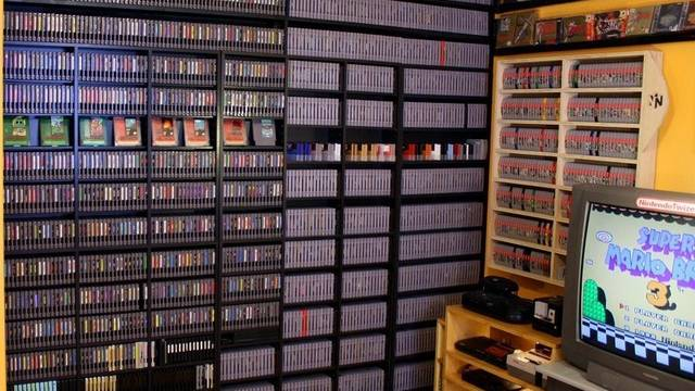 Una de las mayores colecciones de videojuegos, a la venta