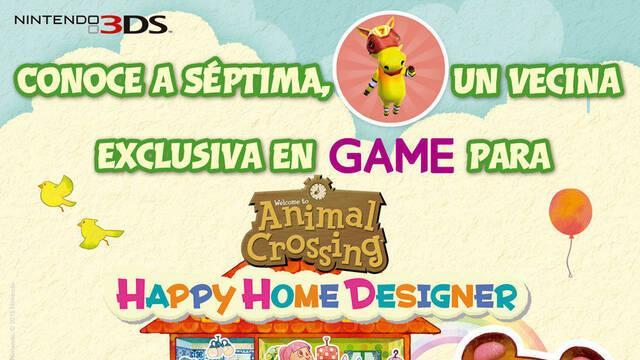 GAME nos permitirá desbloquear a una nueva vecina en Animal Crossing: Happy Home Designer
