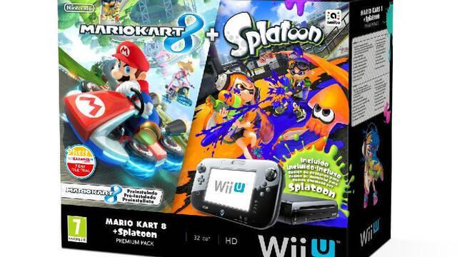 Anunciado un Pack de Wii U con Mario Kart 8 y Splatoon