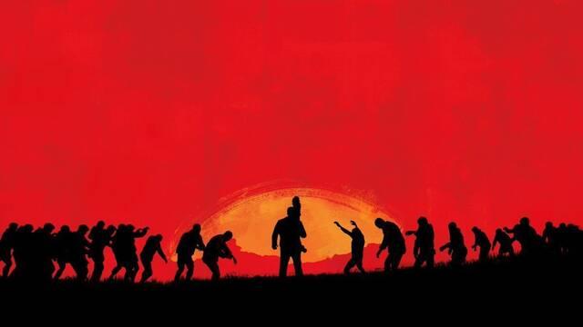 Capcom parodia la última ilustración de Red Dead Redemption con Dead Rising