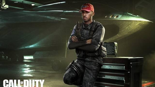Lewis Hamilton interpretará a un personaje en Call of Duty: Infinite Warfare