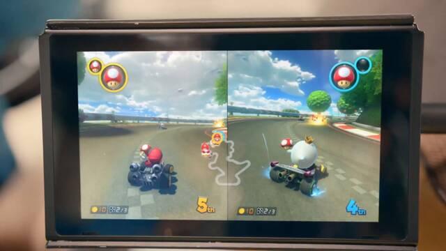 Mario Kart 8 para Nintendo Switch llegaría poco después de la salida de la consola