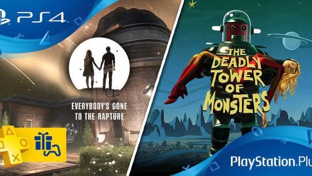 Estos son los juegos gratis de PS Plus para de noviembre de 2016