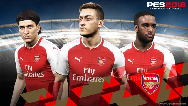 Konami se convierte en partner oficial del Arsenal