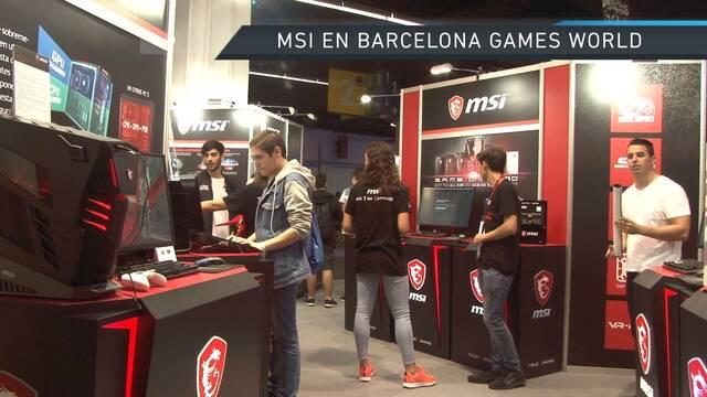 Vandal TV: Así fue el stand de MSI Barcelona Games World