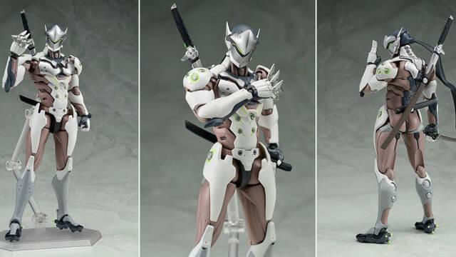 Genji de Overwatch recibe una espectacular figura figma
