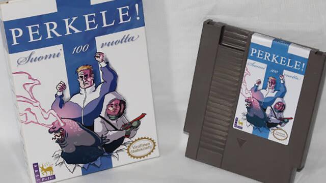 Finlandia conmemora los 100 años de independencia de Rusia con un juego de NES