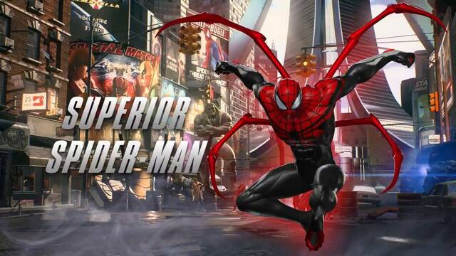 Superior Spider-Man se muestra en Marvel vs. Capcom: Infinite