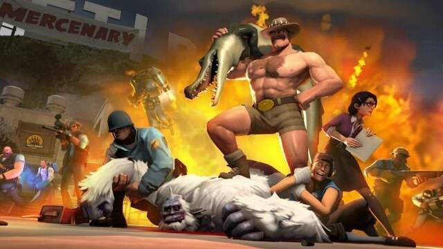 Team Fortress 2 presenta un nuevo mapa: Mercenary Park