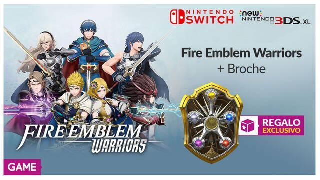 GAME detalla su incentivo por reserva para Fire Emblem Warriors