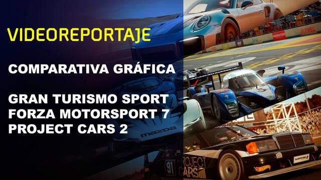 Vandal TV: Comparativa gráfica GT Sport, Forza 7 y Project Cars 2
