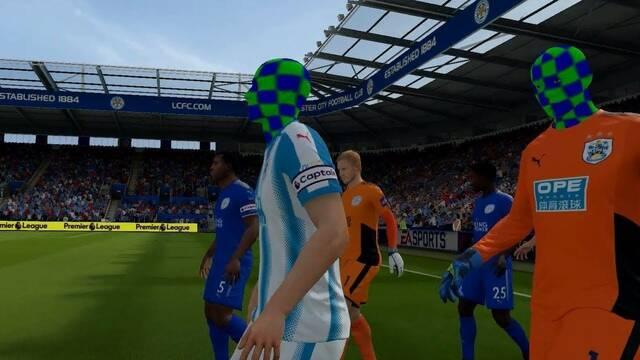 Un 'bug' de FIFA 18 en Nintendo Switch elimina las caras de los jugadores