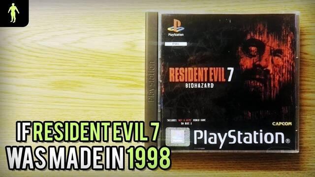 Un demake imagina cómo habría sido Resident Evil 7 en 1998