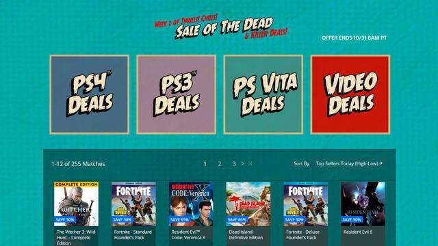 Nuevas ofertas en PS Store de Estados Unidos
