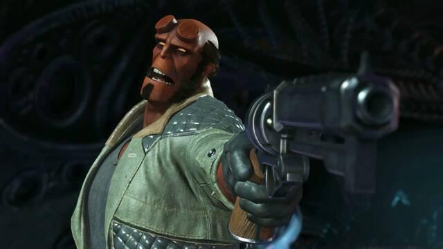 Hellboy se muestra en acción en Injustice 2
