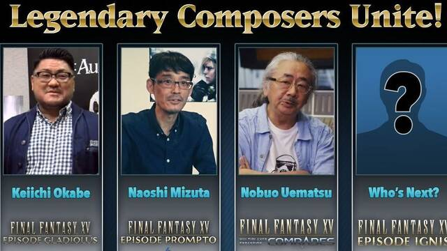 Episode Ignis de Final Fantasy XV contará con un 'compositor legendario'