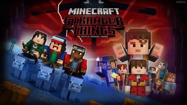 Los personajes de Stranger Things llegan a Minecraft