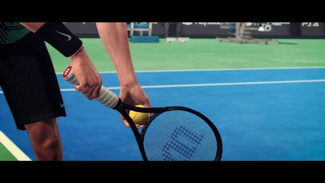 Tennis World Tour muestra su primer teaser durante la Paris Games Week