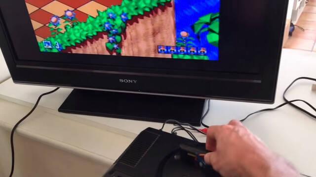 El menú secreto de Sonic 3D por golpear el cartucho era una pantalla de error