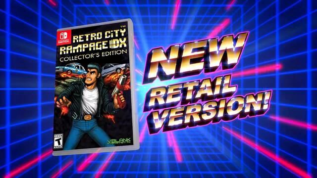 Retro City Rampage DX tendrá edición física en Switch