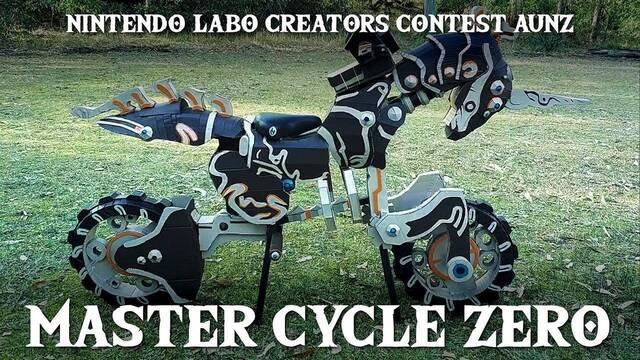 Diseña a tamaño real la moto de The Legend of Zelda con Nintendo Labo