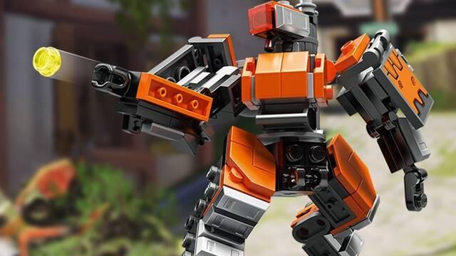LEGO y Overwatch presentan la figura del Bastion ómnico
