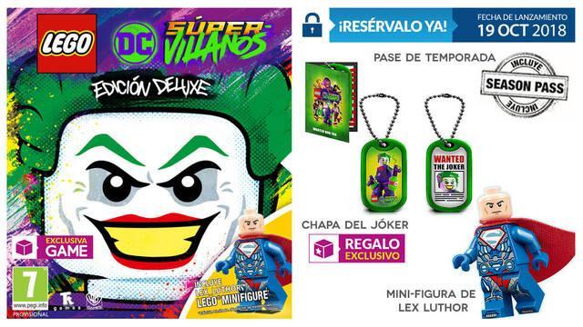 GAME detalla su edición exclusiva e incentivo para LEGO DC Súper-Villanos