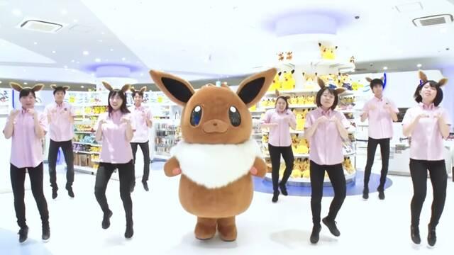 The Pokémon Company ha creado un divertido baile dedicado a Eevee