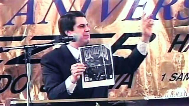 Josué Yrion, el reverendo que proclamó 'los Nintendos son el Diablo'