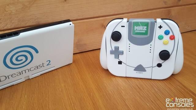 Personalizan una Nintendo Switch con el aspecto de una Dreamcast