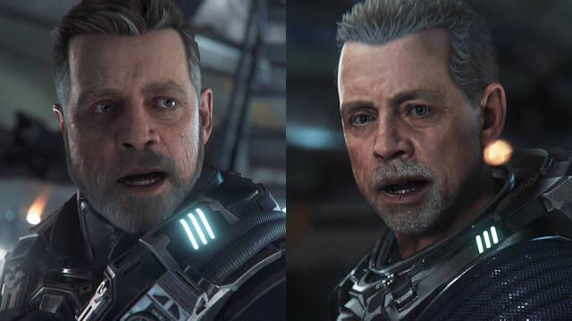 Squadron 42 de Star Citizen muestra el nuevo aspecto del actor Mark Hamill