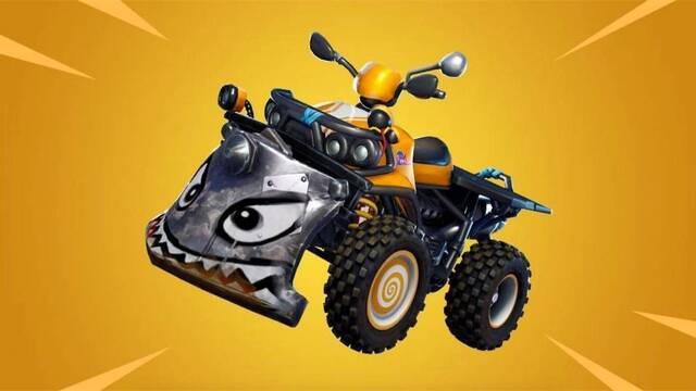 Fortnite añadirá un nuevo vehículo, Quadcrasher