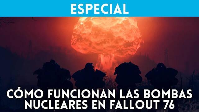 Así funcionan las bombas nucleares en Fallout 76