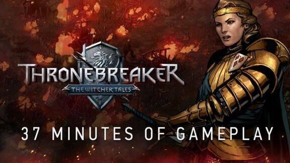 CD Projekt muestra casi 40 minutos de Thronebreaker: The Witchers Tales