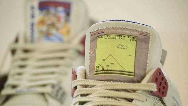 Anunciadas unas Air Jordan IV decoradas con Super Mario Land