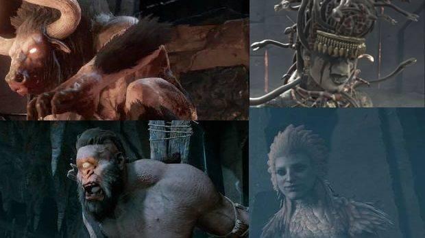 Cíclope, Minotauro, Medusa y Esfinge en Assassin's Creed Odyssey: LOCALIZACIÓN