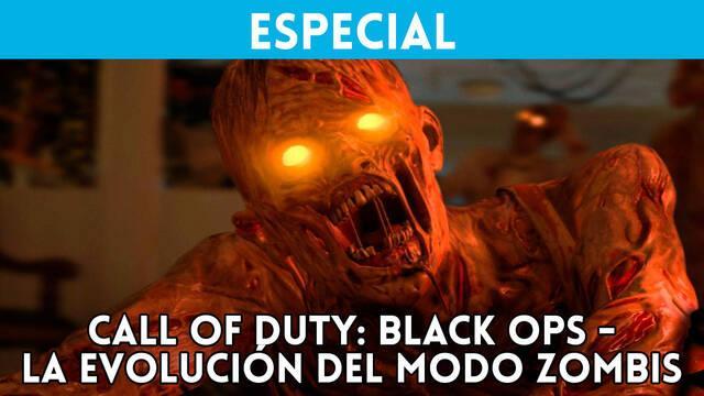 Call of Duty: La evolución del modo Zombis en la saga Black Ops