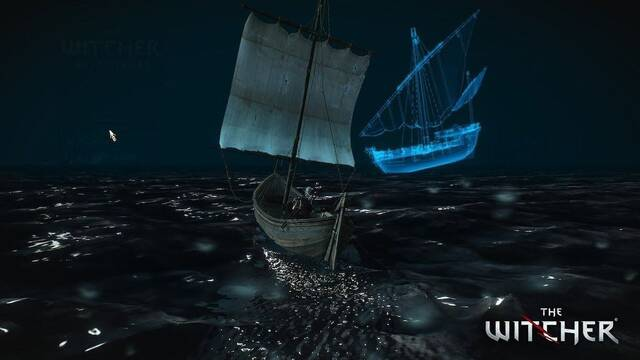The Witcher 3: Un barco fantasma aparece por las noches en Skellige