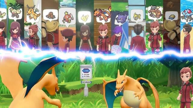 Los entrenadores maestros se presentan en Pokémon Let's Go para Switch