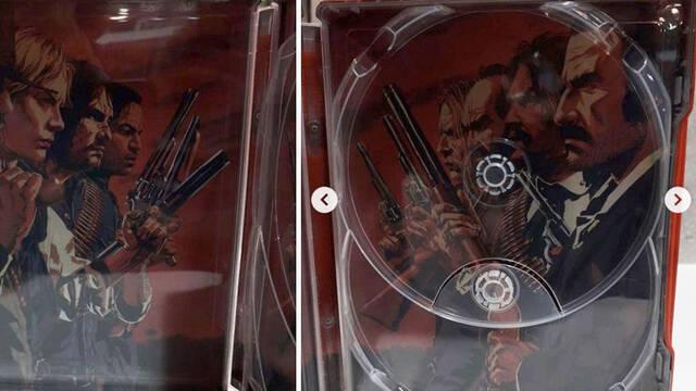 Una fotografía confirma los dos discos de Red Dead Redemption 2