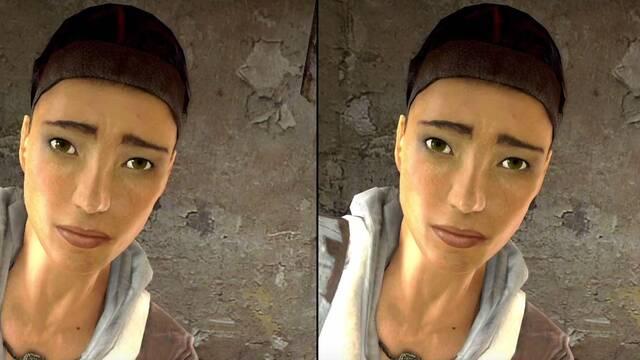 Comparan Half-Life 2 en Xbox 360 y Xbox One X a 4K