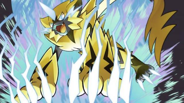 Consigue a Zeraora de Pokémon Ultrasol / Ultraluna en GAME por tiempo limitado