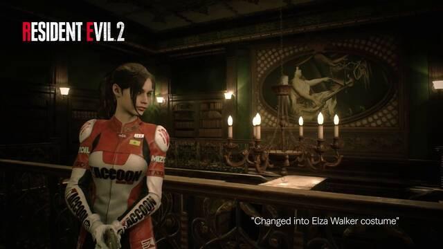 Resident Evil 2 Remake muestra el aspecto Elza Walker para Claire
