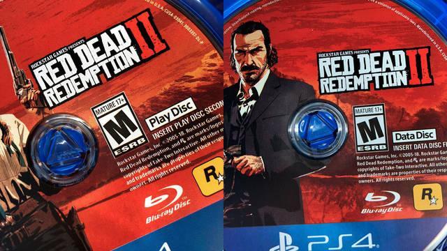 Red Dead Redemption 2: Así son los dos discos de la edición física