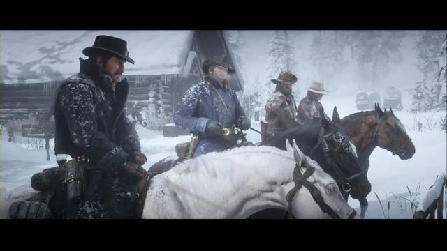 Viejos amigos en Red Dead Redemption 2 - Misión principal