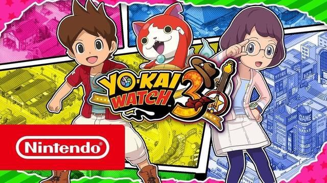 Yo-Kai Watch 3 estará disponible el 7 de diciembre en Nintendo 3DS
