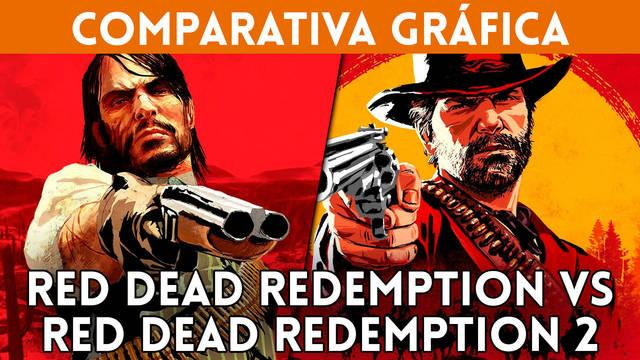 Comparativa gráfica: Red Dead Redemption 1 vs RDR 2
