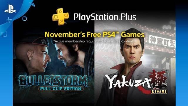 Ya disponibles los juegos de PS Plus de noviembre 2018