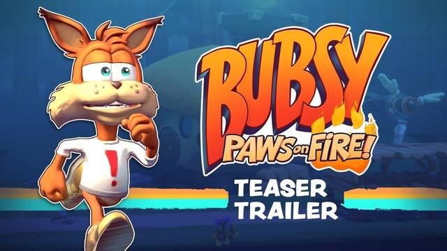Los creadores de Runner 3 presentan Bubsy: Paws of Fire
