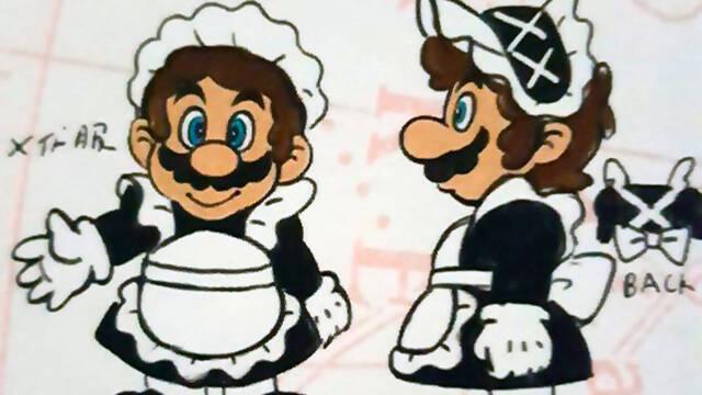 El libro de arte de Super Mario Odyssey revela trajes descartados para Mario